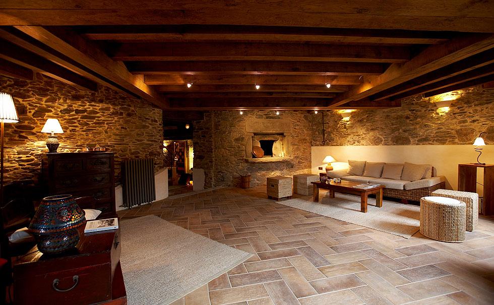 Los salones de areal recepci n turismo rural en - Casas rurales lujo espana ...